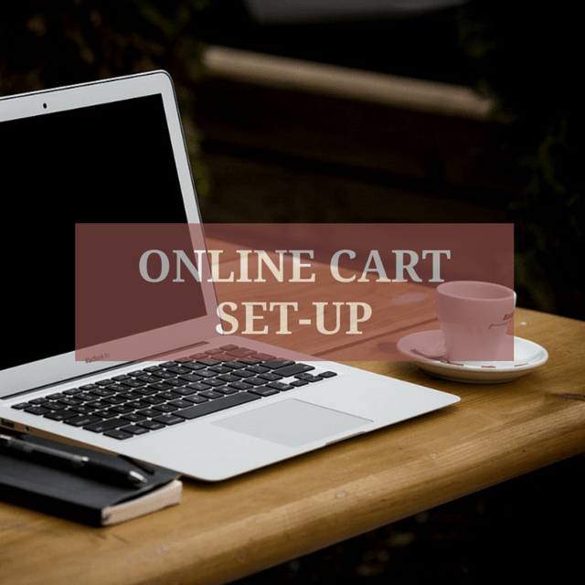 ONLINE CART SET UP